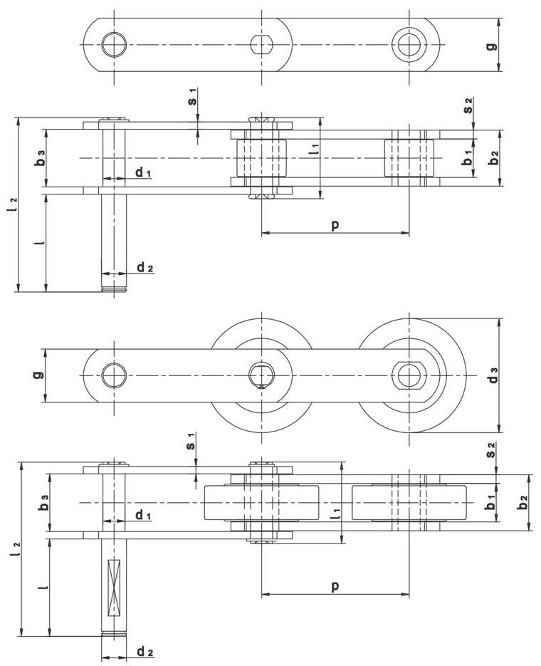 Lanci za dizala i pokretne stepenice  po tvorničkoj normi