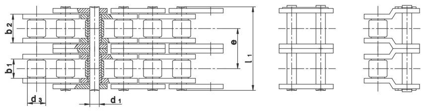 Valjčasti lanci DIN 8187